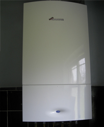 domestic boiler installation